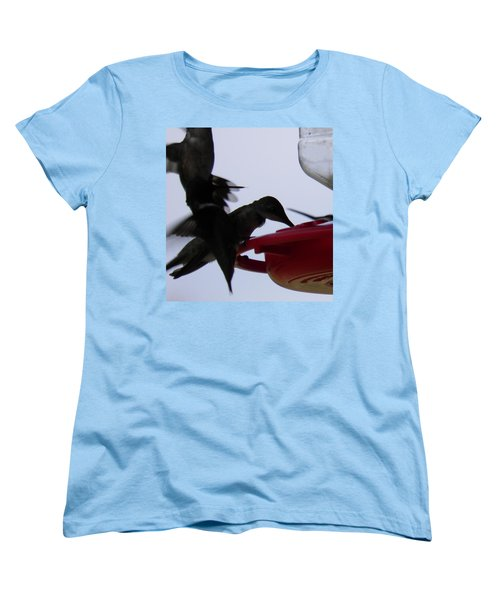 Women's T-Shirt (Standard Cut) featuring the photograph Happy Hour by Nick Kirby
