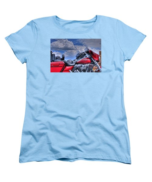 Harley Women's T-Shirt (Standard Cut) by Ron White