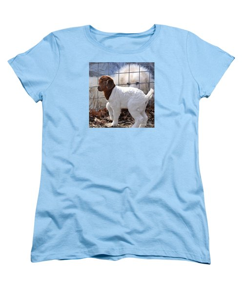 He Watches Over Me Women's T-Shirt (Standard Cut) by Nava Thompson