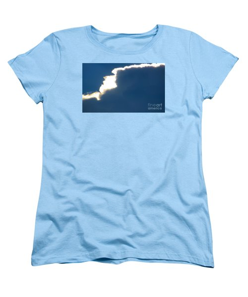 Women's T-Shirt (Standard Cut) featuring the photograph Head In The Clouds by Joy Hardee