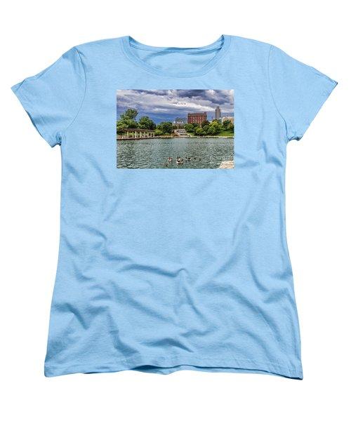 Heartland Of America Park Women's T-Shirt (Standard Cut) by Elizabeth Winter