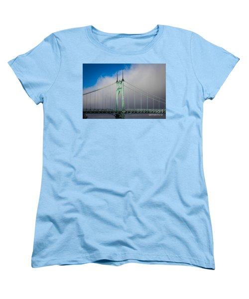 Heaven's Gate Women's T-Shirt (Standard Cut) by Patricia Babbitt