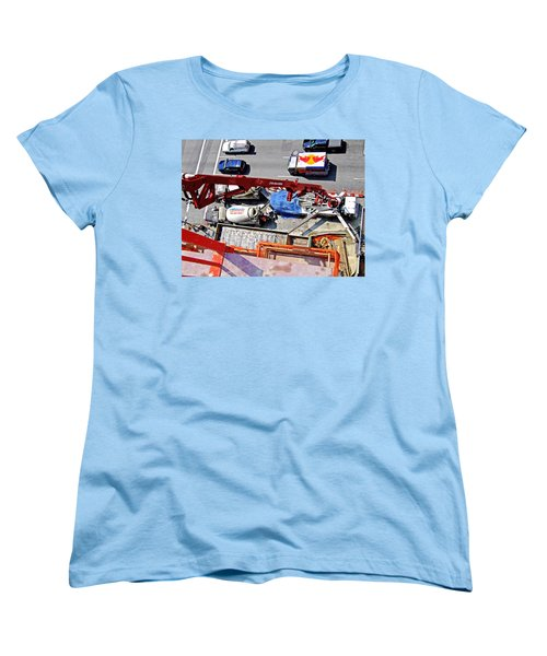 Heavy Lifting Pumper Women's T-Shirt (Standard Cut) by Steve Sahm