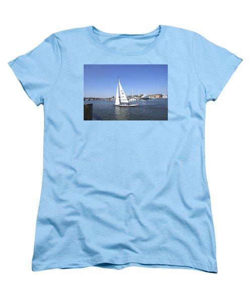 Heeling Women's T-Shirt (Standard Cut) by Charles Kraus