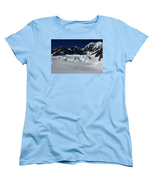 Women's T-Shirt (Standard Cut) featuring the photograph Helicopter New Zealand  by Amanda Stadther