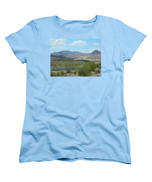 Women's T-Shirt (Standard Cut) featuring the photograph Henderson Nevada Desert by Emmy Marie Vickers