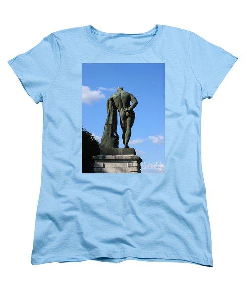 Hercules  Women's T-Shirt (Standard Cut) by HEVi FineArt