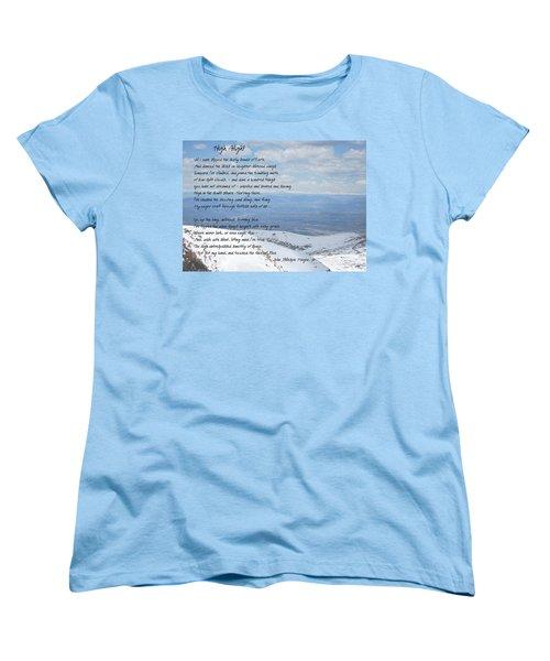 High Flight Women's T-Shirt (Standard Cut) by Paulette B Wright
