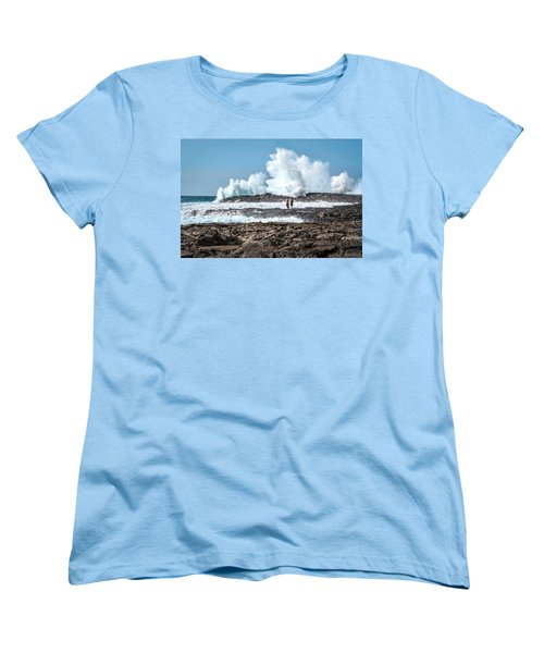 In Over Their Heads Women's T-Shirt (Standard Cut) by Denise Bird