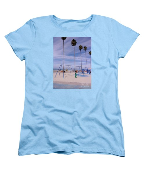 Women's T-Shirt (Standard Cut) featuring the photograph Higher  by Susan Garren