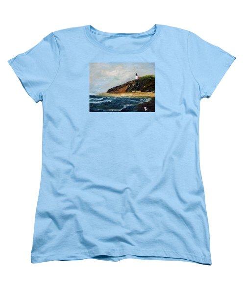 Highland Light Women's T-Shirt (Standard Cut) by Michael Helfen