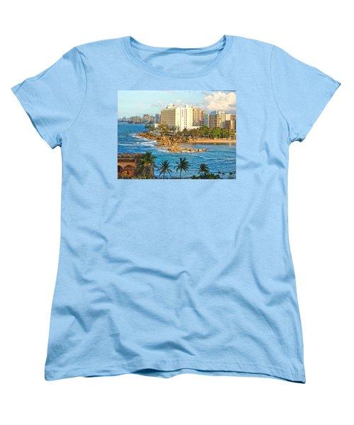Hilton Conrad Women's T-Shirt (Standard Cut) by Daniel Sheldon