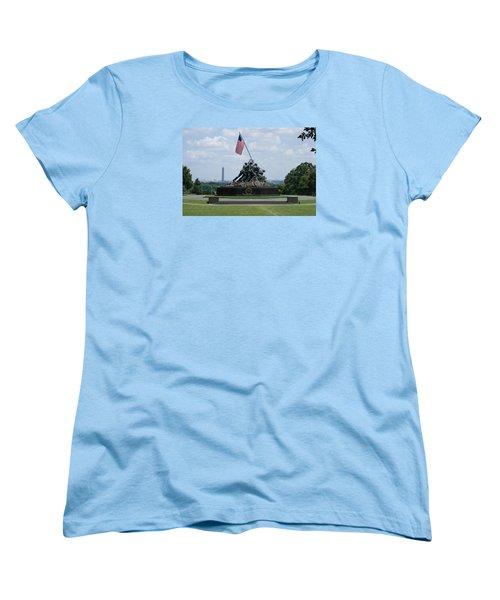Women's T-Shirt (Standard Cut) featuring the photograph Iwo Jima by Heidi Poulin
