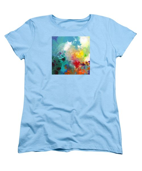 Holding The High Watch Canvas One Women's T-Shirt (Standard Cut) by Sally Trace