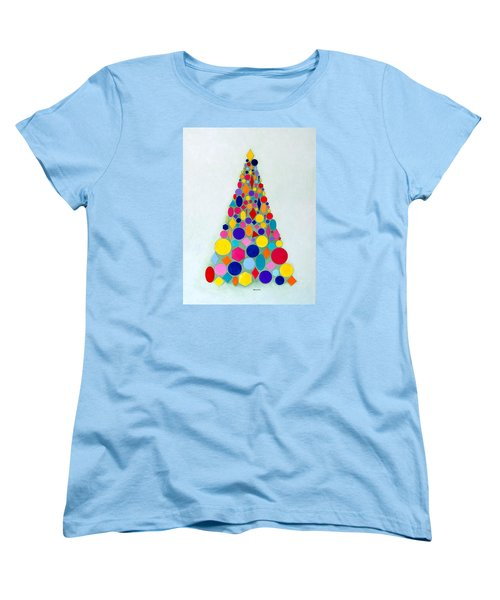 Holiday Tree #1 Women's T-Shirt (Standard Cut) by Thomas Gronowski