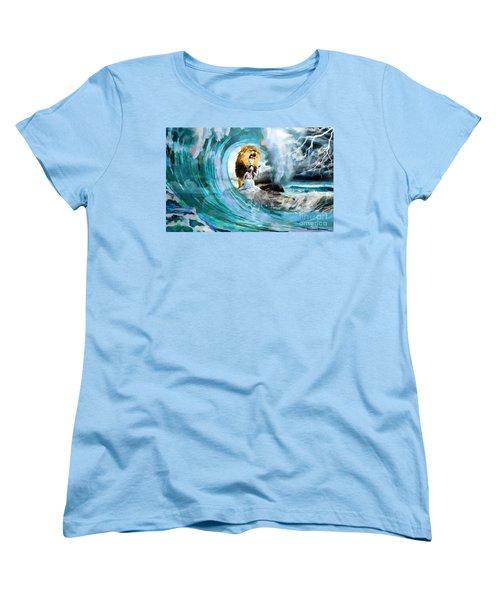 Holy Roar Women's T-Shirt (Standard Cut) by Dolores Develde