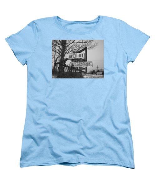 Women's T-Shirt (Standard Cut) featuring the photograph Home Cooking  by Michael Krek