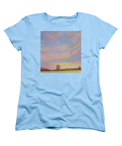 Homeward Women's T-Shirt (Standard Cut) by Ann Brian