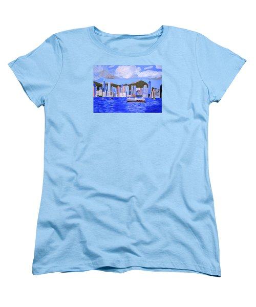 Hong Kong Women's T-Shirt (Standard Cut) by Magdalena Frohnsdorff