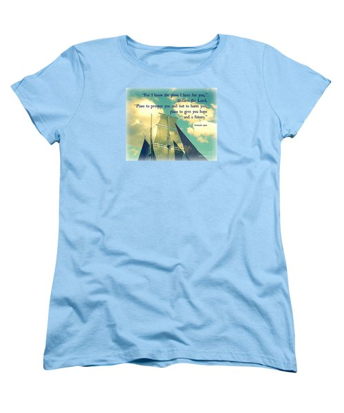 Hope And A Future Women's T-Shirt (Standard Cut) by Valerie Reeves