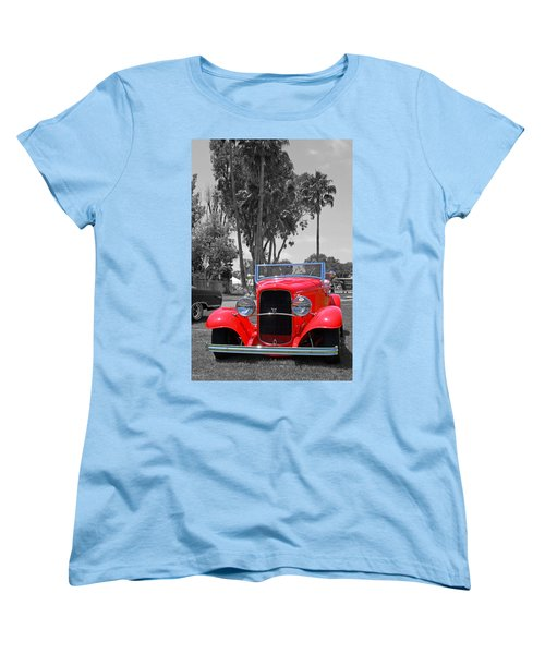 Women's T-Shirt (Standard Cut) featuring the photograph Hot V8 by Shoal Hollingsworth