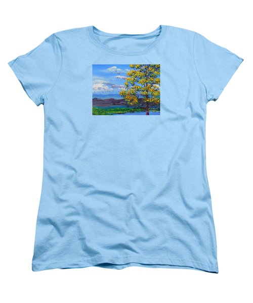 How Lovely Is Your Dwelling Place Women's T-Shirt (Standard Cut) by Dan Whittemore