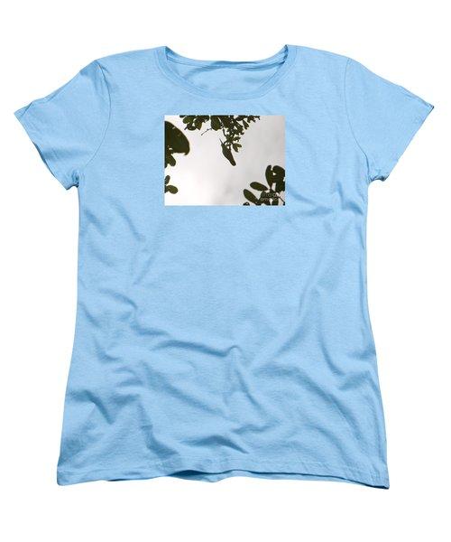 Women's T-Shirt (Standard Cut) featuring the photograph Hummingbird Silhouette 1 by Joy Hardee