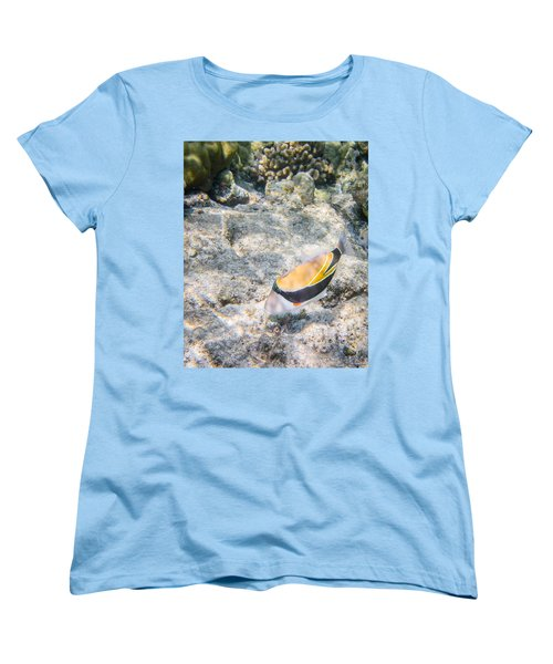Humuhumunukunukuapua'a Women's T-Shirt (Standard Cut) by Denise Bird
