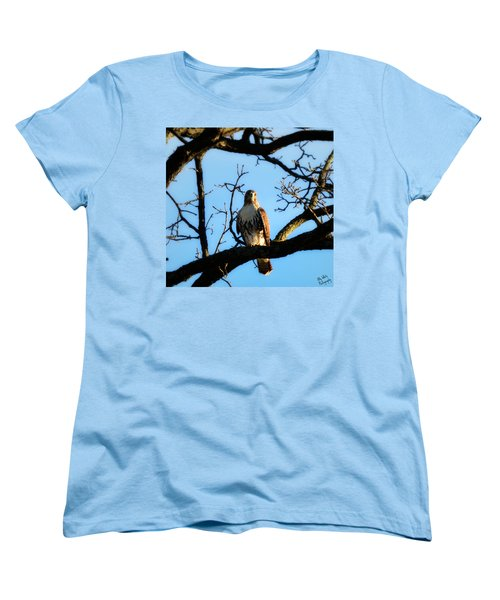 Women's T-Shirt (Standard Cut) featuring the photograph Hungry by Ally  White