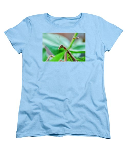 Women's T-Shirt (Standard Cut) featuring the photograph I See You by Thomas Woolworth
