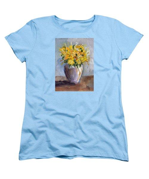 I Think Of Spring Women's T-Shirt (Standard Cut) by Michael Helfen