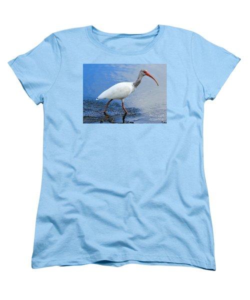 Ibis Visitor Women's T-Shirt (Standard Cut) by Carol Groenen