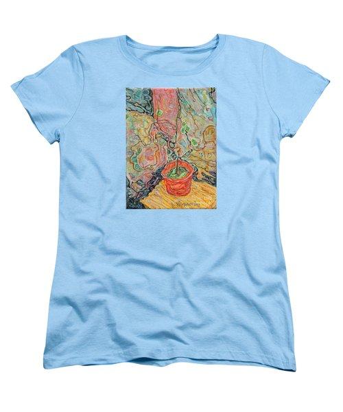 Ikebana Women's T-Shirt (Standard Cut) by Anna Yurasovsky