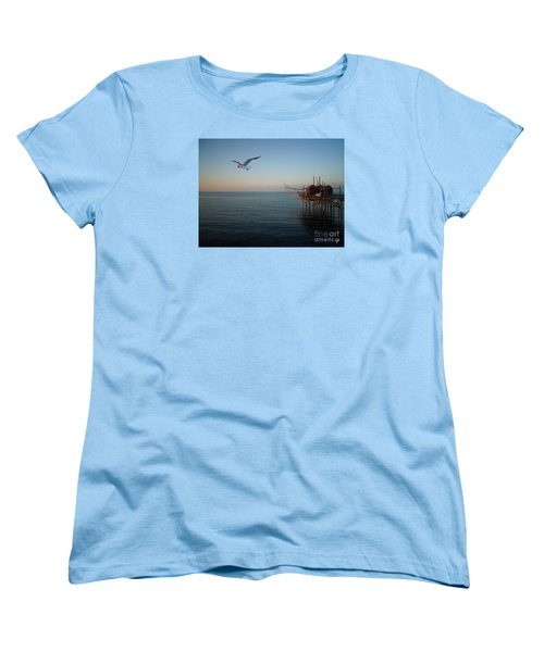 Il Trabucco - The Trebuchet Fishing Women's T-Shirt (Standard Cut) by Zedi