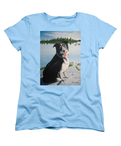 I'm Guarding The Camp Women's T-Shirt (Standard Cut) by Norm Starks