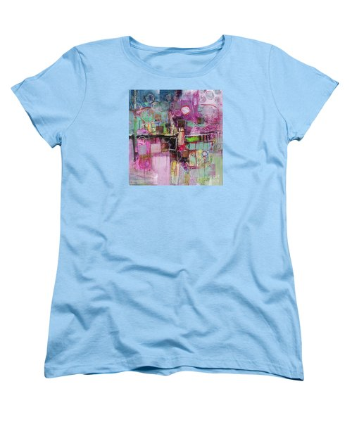 Women's T-Shirt (Standard Cut) featuring the painting Impromptu by Michelle Abrams