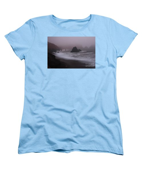Women's T-Shirt (Standard Cut) featuring the photograph In A Fog by Suzanne Luft