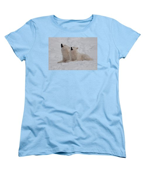 Women's T-Shirt (Standard Cut) featuring the photograph In Harmony by Bianca Nadeau