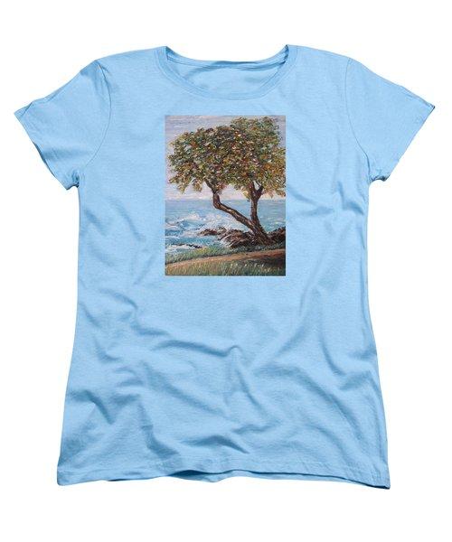In Hawaii Women's T-Shirt (Standard Cut) by Roberta Rotunda