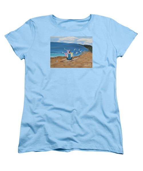 In Meditation Women's T-Shirt (Standard Cut) by Cheryl Bailey