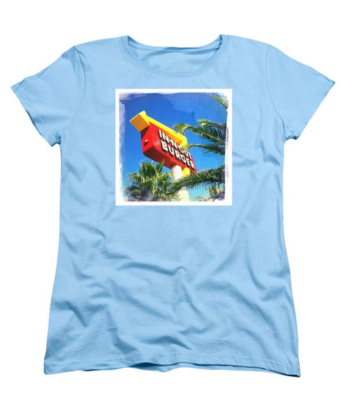 In-n-out Burger Women's T-Shirt (Standard Cut) by Nina Prommer