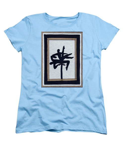 Women's T-Shirt (Standard Cut) featuring the mixed media In Perfect Balance by Barbara St Jean