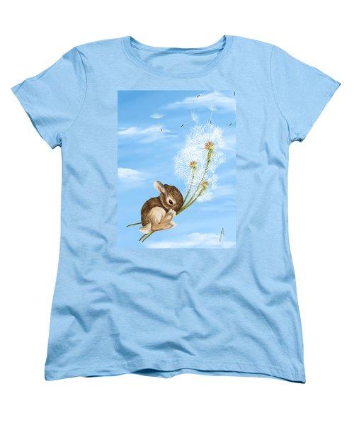 In The Air Women's T-Shirt (Standard Cut) by Veronica Minozzi