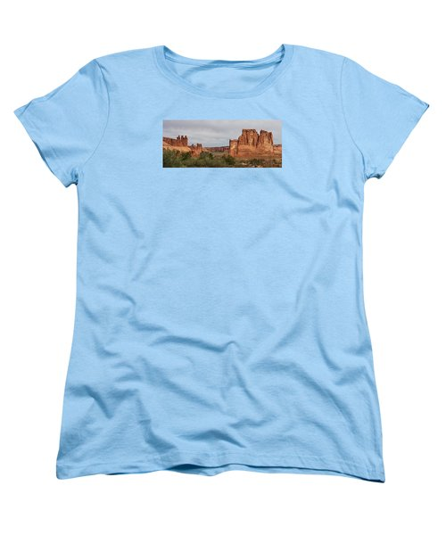 Women's T-Shirt (Standard Cut) featuring the photograph In The Canyon by Bruce Bley