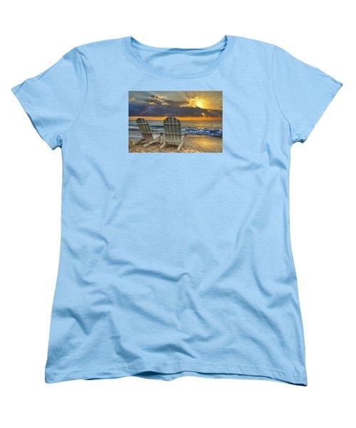 In The Spotlight Women's T-Shirt (Standard Cut) by Debra and Dave Vanderlaan