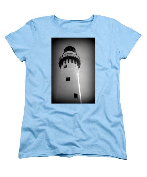 In The Village Of Wind Point Women's T-Shirt (Standard Cut) by Kay Novy