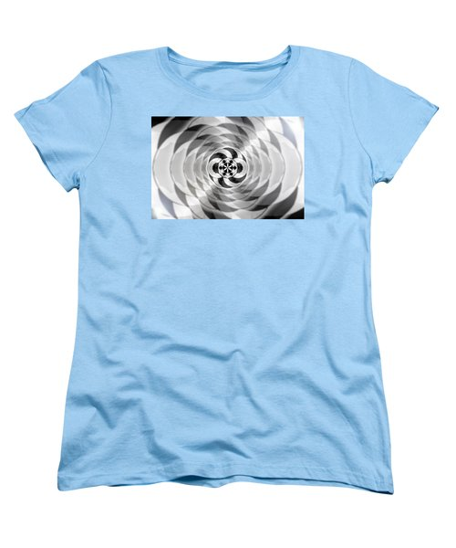 Women's T-Shirt (Standard Cut) featuring the drawing Infinity Bonded by Derek Gedney