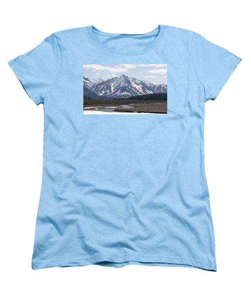 Inside Denali National Park 4 Women's T-Shirt (Standard Cut) by Tara Lynn