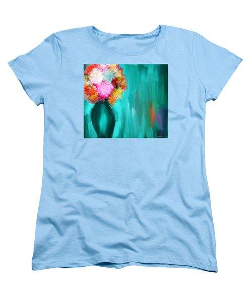 Intense Eloquence Women's T-Shirt (Standard Cut) by Lourry Legarde