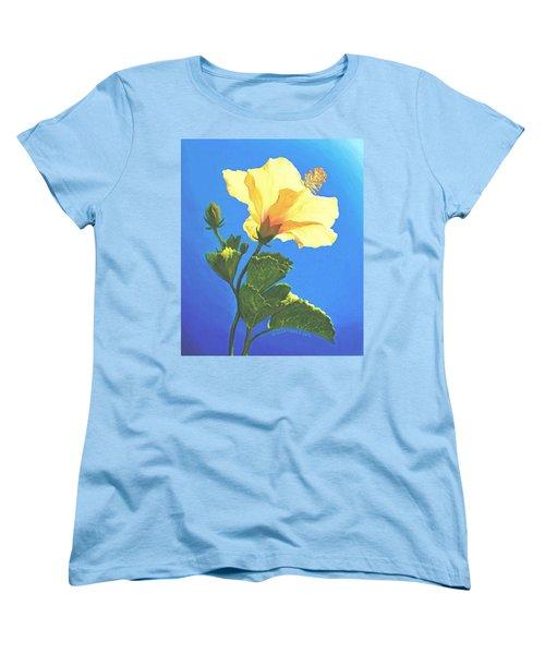 Into The Light Women's T-Shirt (Standard Cut) by Sophia Schmierer